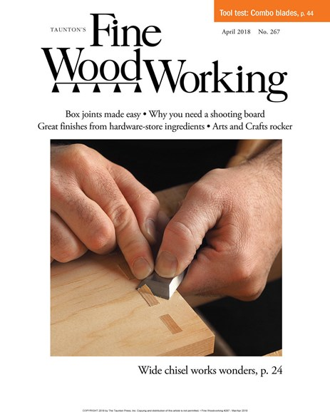 Fine Woodworking Cover - 3/1/2018