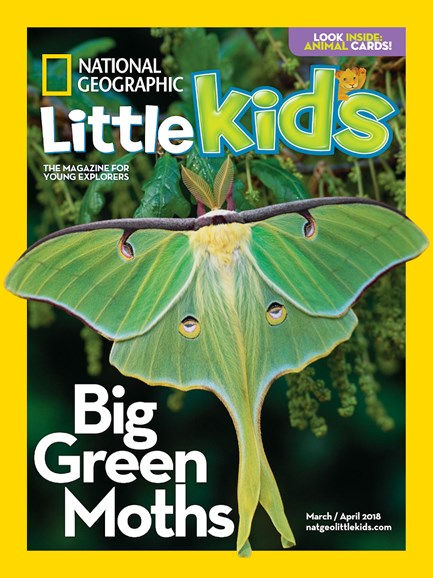 National Geographic Little Kids Cover - 3/1/2018
