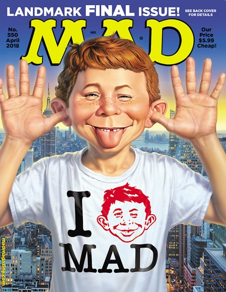 Mad Cover - 4/1/2018