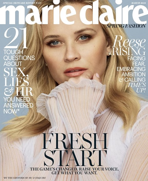 Marie Claire Cover - 3/1/2018