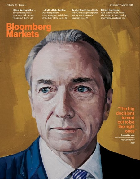 Bloomberg Markets Cover - 2/1/2018