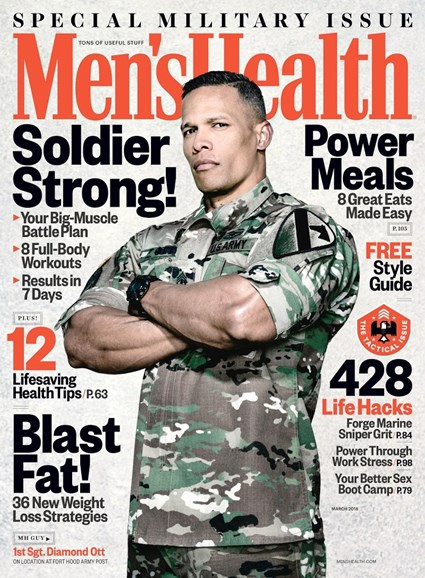 Men's Health Cover - 3/1/2018