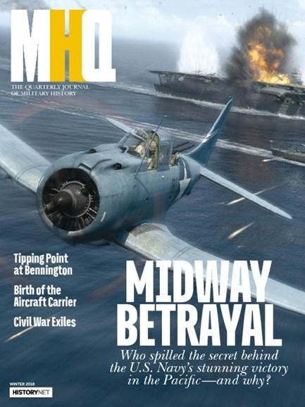MHQ: Military History Quarterly Cover - 12/1/2017