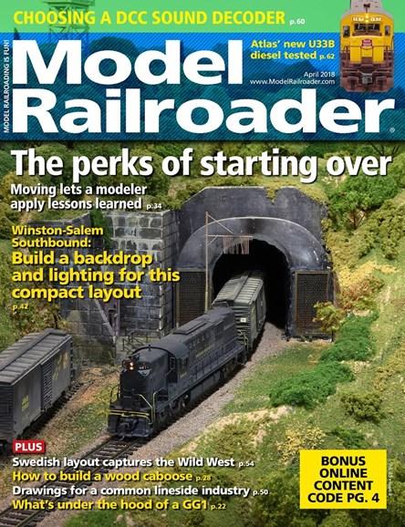 Model Railroader Cover - 4/1/2018