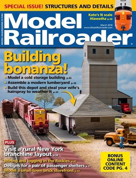Model Railroader Cover - 3/1/2018
