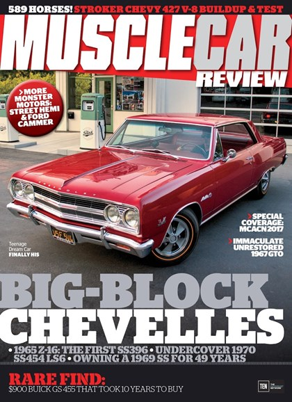 Muscle Car Review Cover - 3/1/2018