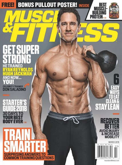 Muscle & Fitness Cover - 3/1/2018