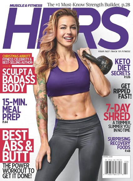 Muscle & Fitness Hers Cover - 3/1/2018