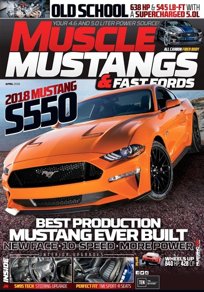 Muscle Mustangs & Fast Fords Cover - 4/1/2018