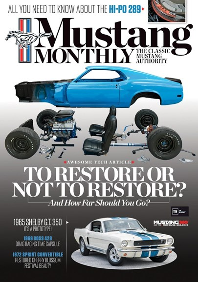 Mustang Monthly Cover - 3/1/2018
