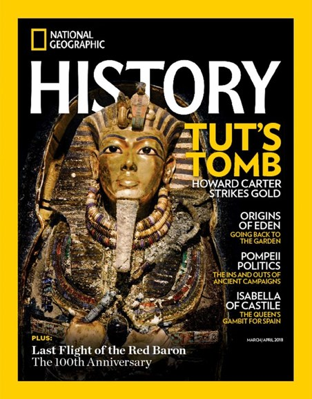 National Geographic History Cover - 3/1/2018