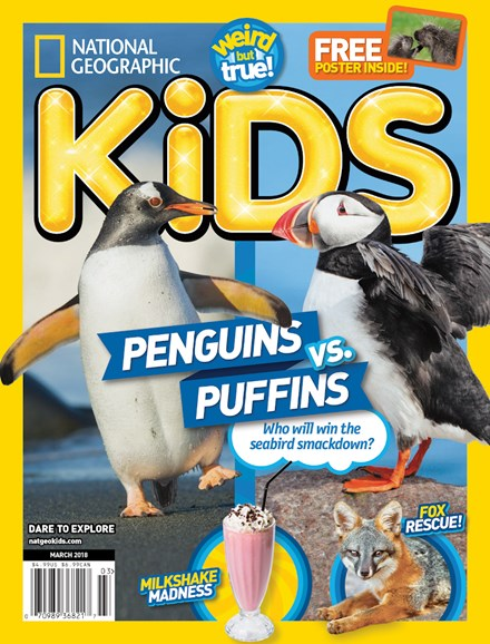 National Geographic Kids Cover - 3/1/2018