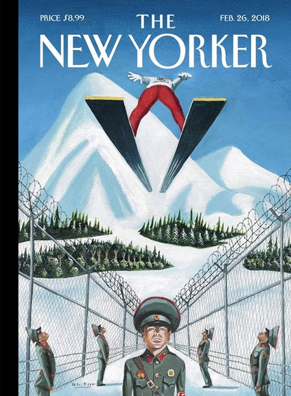 The New Yorker Cover - 2/26/2018