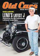 Old Cars Weekly Magazine 3/8/2018