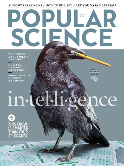 Popular Science Cover - 3/1/2018