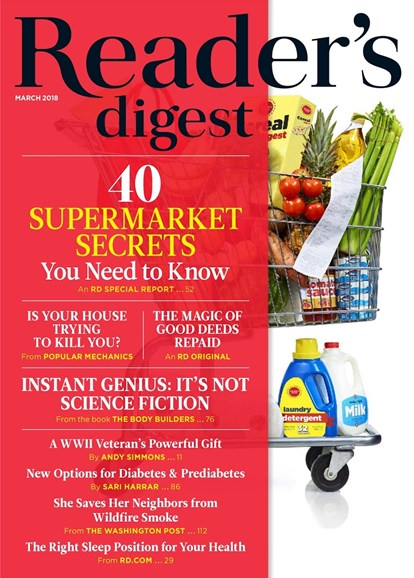 Reader's Digest Cover - 3/1/2018