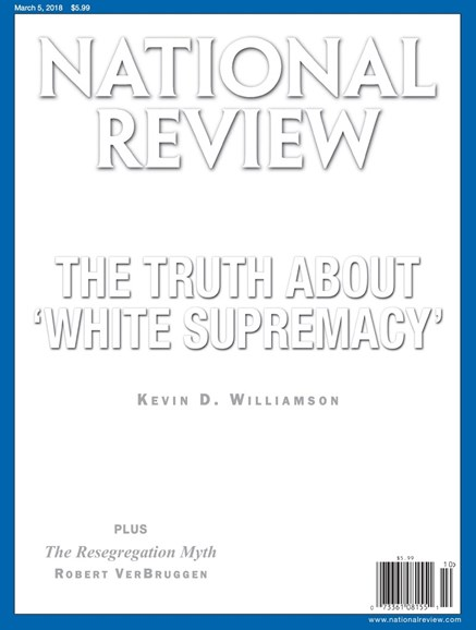 National Review Cover - 3/5/2018