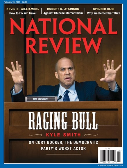 National Review Cover - 2/19/2018