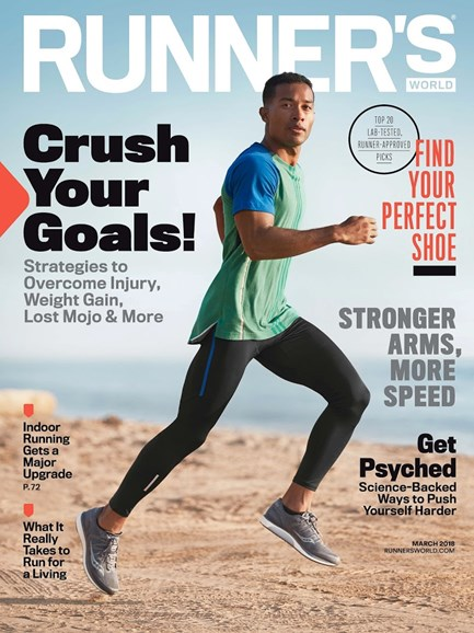Runner's World Cover - 3/1/2018