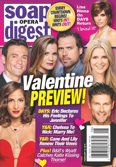 Soap Opera Digest Cover - 2/19/2018