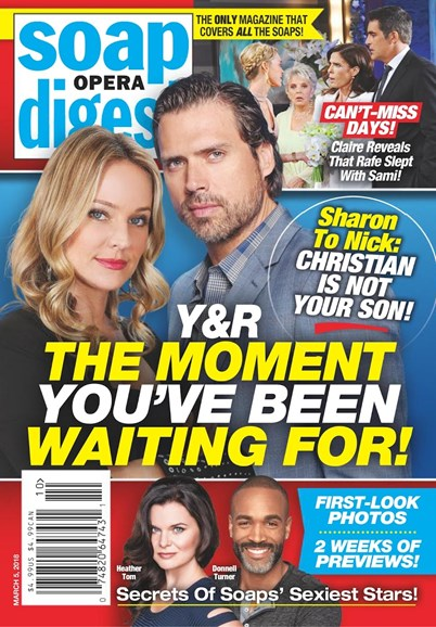 Soap Opera Digest Cover - 3/5/2018