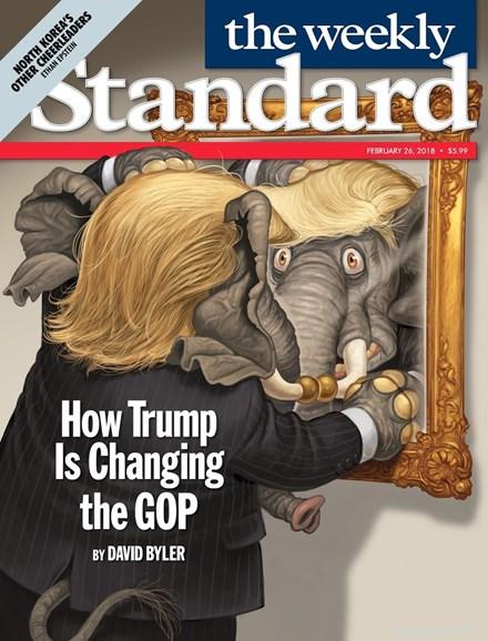 Washington Examiner Cover - 2/26/2018