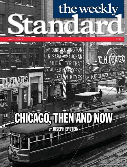 Washington Examiner Cover - 3/5/2018