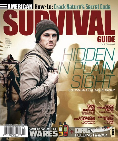 American Survival Guide Cover - 4/1/2018