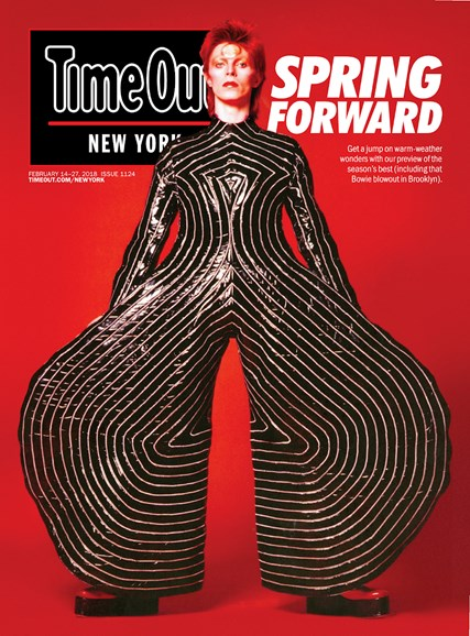 Time Out New York Cover - 2/14/2018