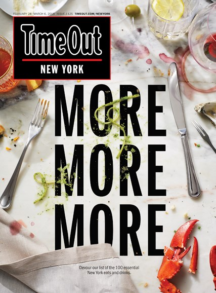 Time Out New York Cover - 2/28/2018