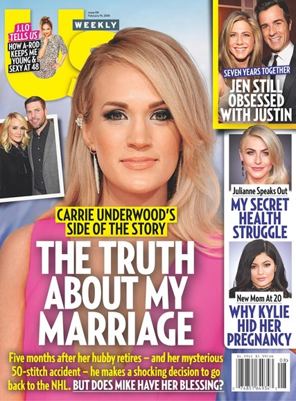 Us Weekly Cover - 2/19/2018