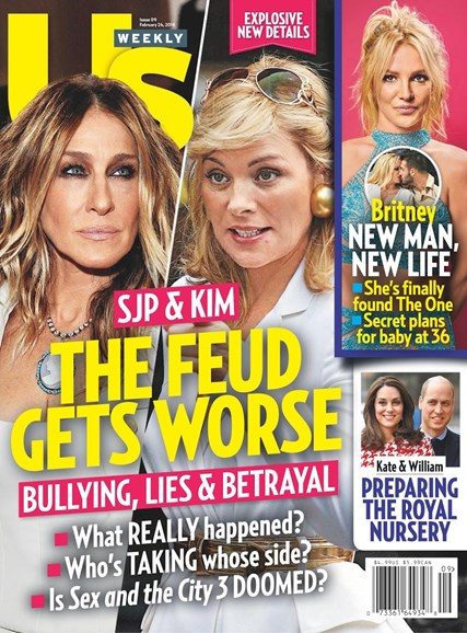Us Weekly Cover - 2/26/2018
