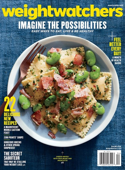 Weight Watchers Magazine Cover - 3/1/2018