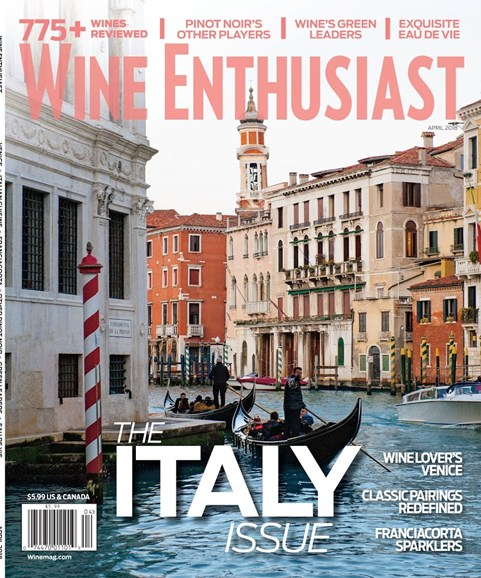 Wine Enthusiast Cover - 4/1/2018