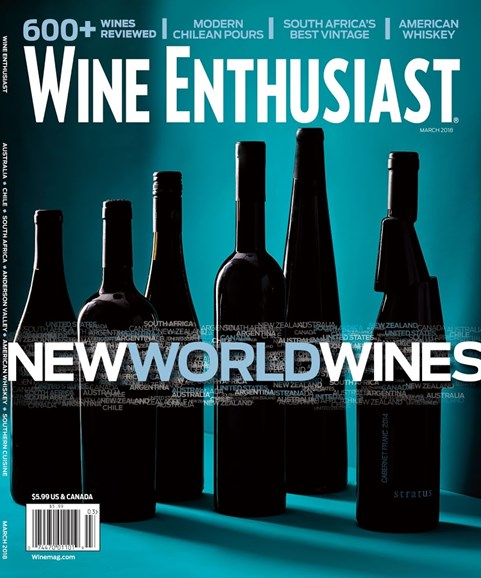 Wine Enthusiast Cover - 3/1/2018