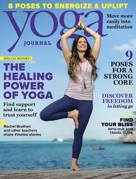Yoga Journal Cover - 3/1/2018
