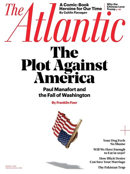 The Atlantic Cover - 3/1/2018