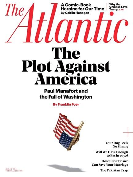 The Atlantic Cover - 3/1/2018