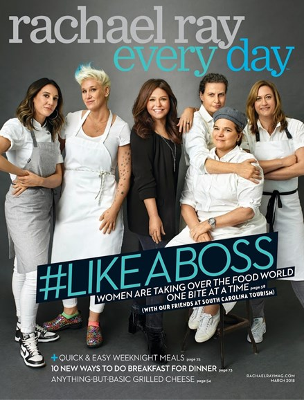 Rachael Ray Every Day Cover - 3/1/2018