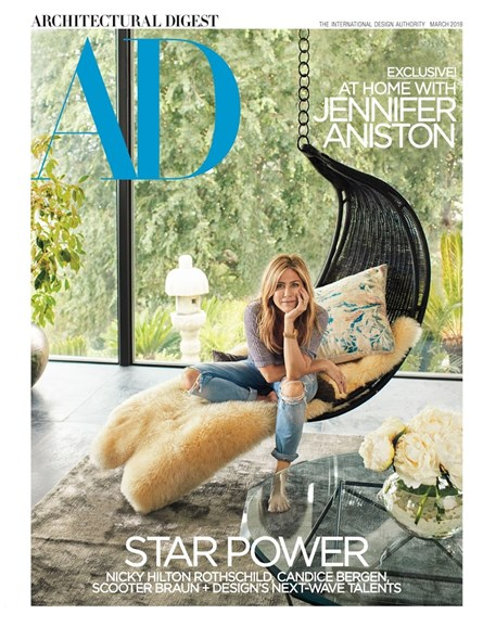 Architectural Digest Cover - 3/1/2018