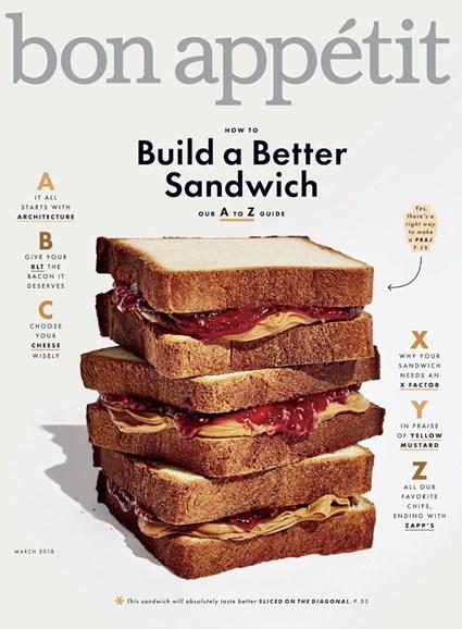 Bon Appétit Cover - 3/1/2018