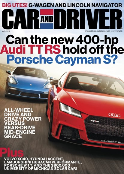 Car And Driver Cover - 3/1/2018
