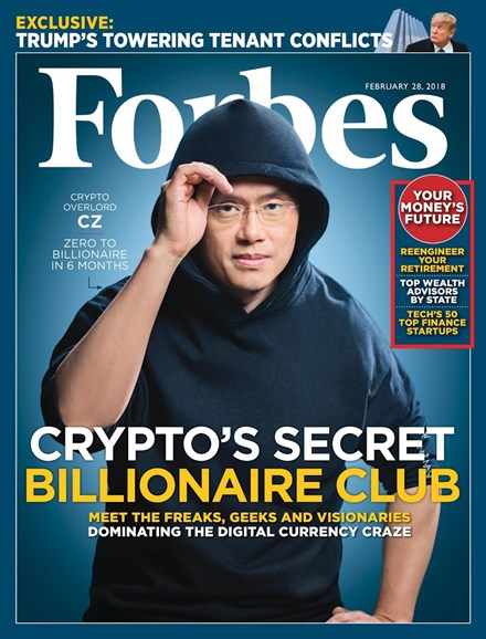 Forbes Cover - 2/28/2018
