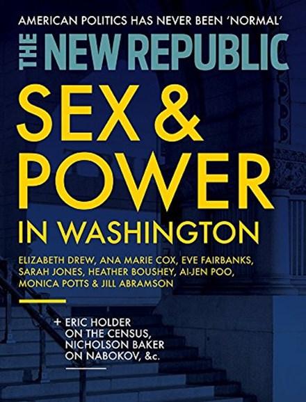 The New Republic Cover - 3/1/2018
