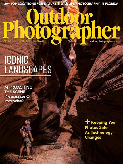 Outdoor Photographer Cover - 3/1/2018