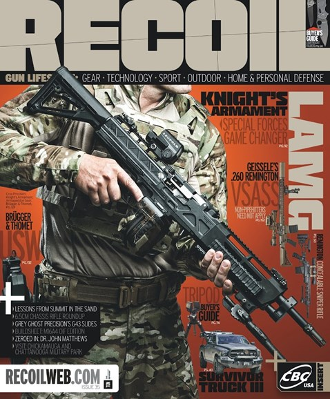 Recoil Cover - 3/1/2018