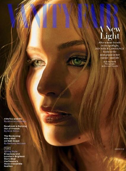 Vanity Fair Cover - 3/1/2018