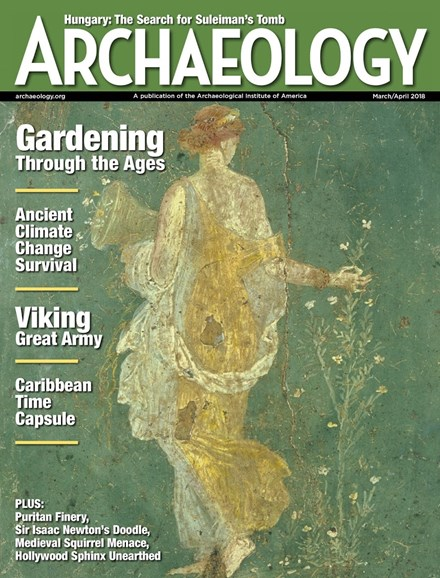 Archaeology Cover - 3/1/2018