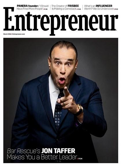 Entrepreneur Cover - 3/1/2018