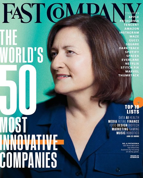 Fast Company Cover - 3/1/2018